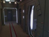 USS Defiant corridor