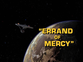 Errand of Mercy title card