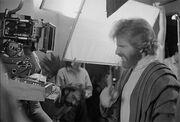 Filming Howie Seago