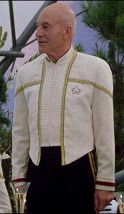 Starfleet captain's dress uniform, 2379