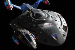 Starship Rhode Island-intercepts-shuttle