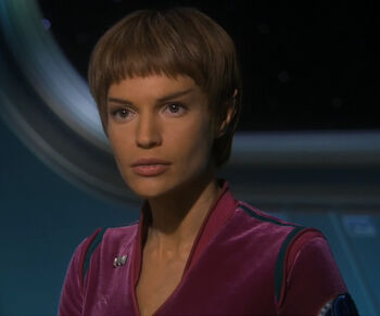 "Commander T'Pol (<a href=""/wiki/2154"" title=""2154"">2154</a>)"