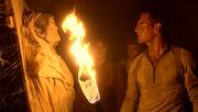 Archer entdeckt T'Klaas in den Katakomben des T'Karath-Heiligtums