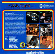 Back cover Star Trek The Motion Picture, Super 8 (German 3-reel edition, part 2)