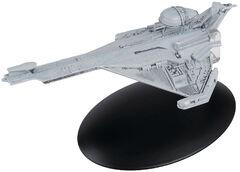 Eaglemoss 142 Promellian Battle Cruiser