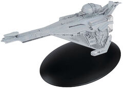 Eaglemoss 142 Promellian Battle Cruiser