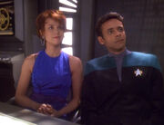 Leeta and Julian Bashir