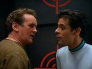 O'Brien and Bashir argue over racquetball