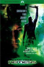 Star Trek Nemesis DVD cover