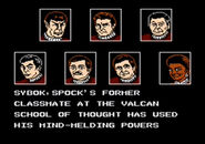 Star Trek V NES Game cutscene 2