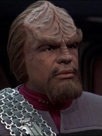 "<a href=""/wiki/Lieutenant_Commander"" title=""Lieutenant Commander"" class=""mw-redirect"">Lieutenant Commander</a> Worf (2379)"
