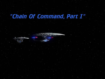 Chain of Command, Part I title card