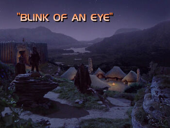 Blink of an Eye title card