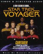 Caretaker audiobook, UK cassette cover