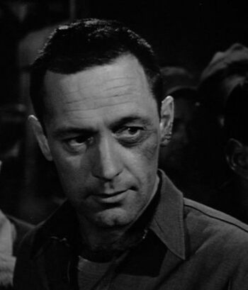 "Franz Bachelin in his cameo in the 1953 film ""Stalag 17"""