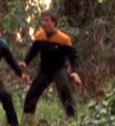 Holographic Starfleet officer 7 2377