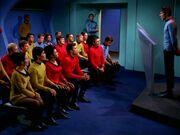 Kirk's memorial service