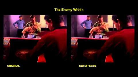 Star Trek - The Enemy Within - visual effects comparison