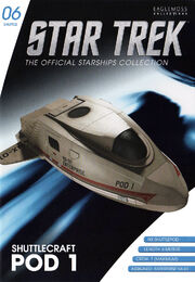 Star Trek Official Starships Collection Shuttle Issue 06