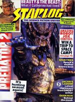 Starlog issue 161 cover