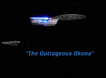 The Outrageous Okona title card