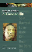 A Time to Die cover
