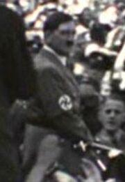 Adolf Hitler, Ekosian newsreel