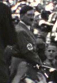 Adolf Hitler in an Ekosian newsreel