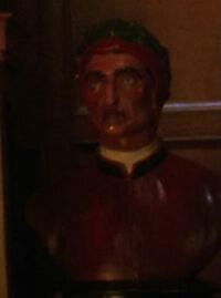 Dante sculpture