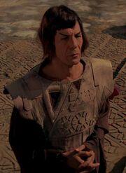 Spock on Vulcan, 2270s