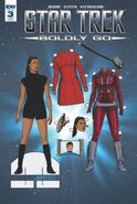 Star Trek Boldly Go, Issue 3 RI-B