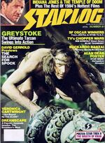 Starlog issue 081 cover