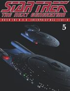 The Official Star Trek The Next Generation Build the Enterprise-D issue 5 magazine