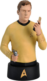 Eaglemoss Official Busts Collection Kirk