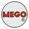 Early Mego logo