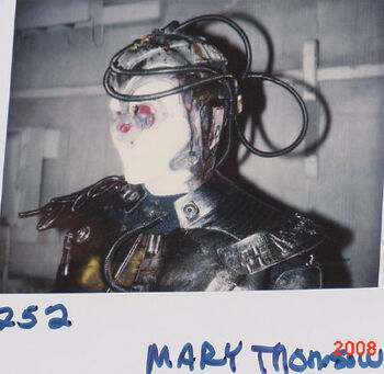 "Thompson on a continuity polaroid from TNG ""Descent"""