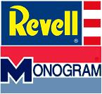 Revell Monogram old logos