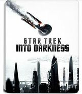 Saturn Star Trek Into Darkness Limited Steelbook Edition