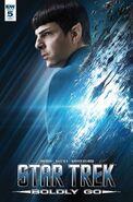 Star Trek Boldly Go, Issue 5 RI-A