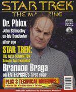 Star Trek The Magazine volume 3 issue 2 cover
