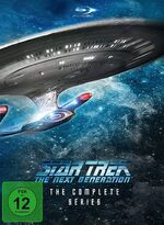 Star Trek The Next Generation - The Complete Series Region B German cover