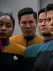 Sternenflottenoffizier Sicherheit 3 USS Voyager 2377 Sternzeit 54090