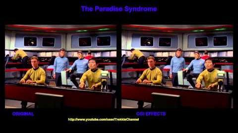 """TOS """"The Paradise Syndrome"""" - """"Illusion"""" - comparaison des effets spéciaux"""