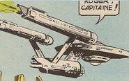 USS Enterprise, Gold Key comics