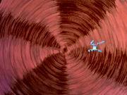 USS Enterprise NCC-1701 und IKS Klothos durchfliegen Zeit-Barriere