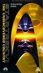 Undiscovered Country 1998 UK VHS widescreen cover