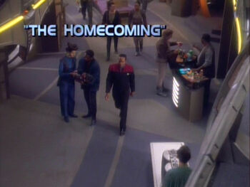 The Homecoming title card