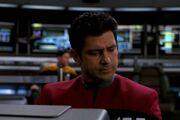 Ayala steuert die USS Voyager