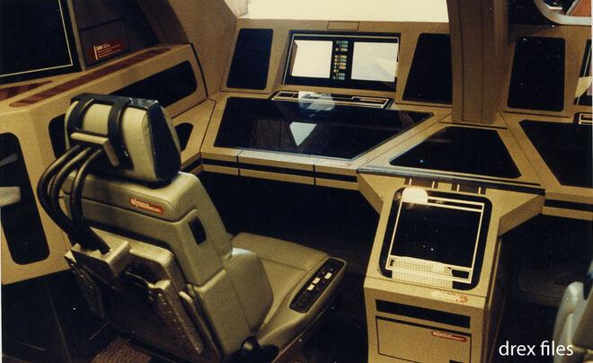 Cockpit des Runabout Sets - Vorderer Sitz an Backbord 3