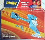 Dinky Toys No.357 Klingon Battle Cruiser Diecast box 1977